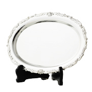 銀製 小判盆 GU203